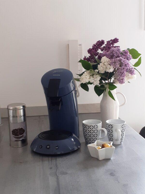 Hotel Prignitz Kaffeemaschine
